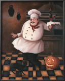 Halloween Chef II Poster by T. C. Chiu