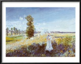 Passeggiata Posters by Claude Monet