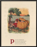 Peter, Peter Pumpkin Eater Prints by Mary LaFetra Russell