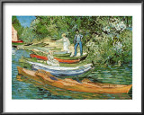 Boats to Rent Poster by Vincent van Gogh