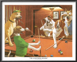 The Scratching Beagle Art by Arthur Sarnoff