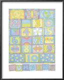 Numbers Prints by Cheryl Piperberg