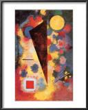 Multicolored Resonance, c.1928 Prints by Wassily Kandinsky