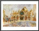 Piazza San Marco, Venice Prints by Pierre-Auguste Renoir