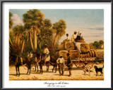 Bringing in the Cotton Prints by William Aiken Walker