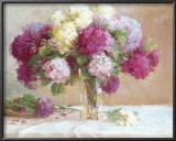 Elizabeth's Hydrangeas Posters by Xiaogang Zhu