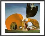 液状の欲望の誕生 1932 高品質プリント : サルバドール・ダリ
