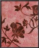 La Vie en Rose II Print by Loretta Linza