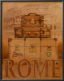 Travel, Rome Poster by T. C. Chiu
