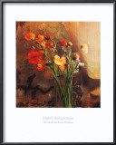 Poppy Reflection Print by Susan Friedman