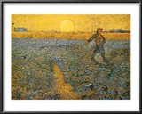 The Sower, c.1888 Prints by Vincent van Gogh