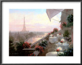 Dinner on the Terrace Posters by Christa Kieffer