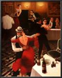 Tango II Print by T. C. Chiu