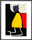 Woman in the Night Art by Joan Miró