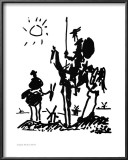 Don Quixote, c.1955 Posters by Pablo Picasso