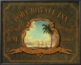 Port Royale Inn Poster by Catherine Jones