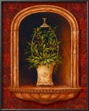 Olive Topiary Niches I Prints by Pamela Gladding