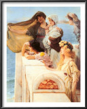 Coign of Vantage, c.1895 Poster by Sir Lawrence Alma-Tadema