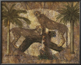 Jungle Cheetahs Prints by Jonnie Chardonn