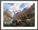 Heritage, Alpine Lake Prints by Millner