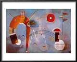 Rond et Pointu, c.1939 Poster by Wassily Kandinsky
