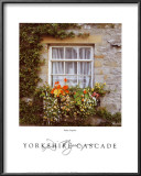 Yorkshire Cascade Poster by Dennis Barloga