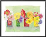 Cans of Flowers Posters by Robbin Gourley