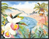 Hawaiian Orchids Art by Terry Madden