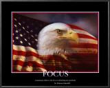 Patriotic Focus Print