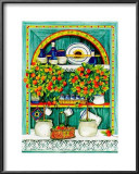 Blossoming Kitchen I Posters by Jean-Pierre Delyle