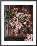 Peonies, Lilacs and Tulips Prints by Pierre-Auguste Renoir