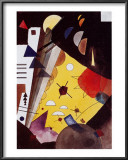 Tension in Height Posters by Wassily Kandinsky