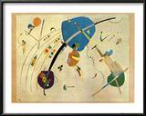 Vers Le Blue, c.1939 Print by Wassily Kandinsky