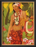 Lei Vendor Posters by J. Maybra