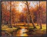 Meadow Stream Prints by T. C. Chiu