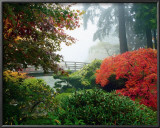 Japanese Garden II Prints by Maureen Love