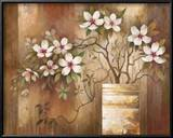 Southern Dogwoods Posters by Elaine Vollherbst-Lane