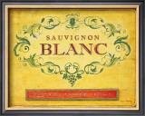 Sauvignon Blanc Print by Angela Staehling