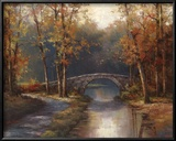 Path to Stone Bridge Prints by T. C. Chiu