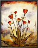 Poppy Garden I Print by Lucia Marque