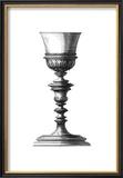 Black and White Goblet I Prints by Giovanni Giardini
