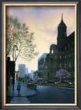 Sunrise in Old Montreal Posters by Denis Nolet