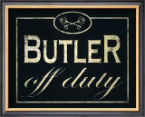 Butler Print by Lisa Vincent