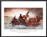 Washington Crossing the Delaware, c.1851 Posters by Emanuel Gottlieb Leutze
