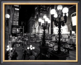 42nd Street at Night Posters by Michel Setboun