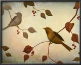 Bird Song II Art by Deac Mong