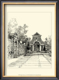 English Architecture V Print by Reginald Blomfield