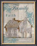 Family, Faith, Community Art by Sam Appleman
