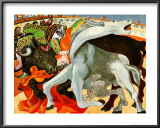 The Bullfight Posters por Pablo Picasso