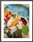 Rural Life Prints by Marc Chagall